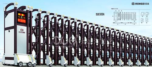 伸缩门-和谐系列309A