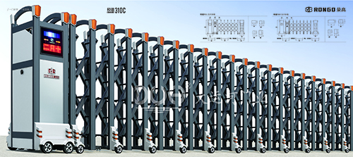 伸缩门-和谐系列310C