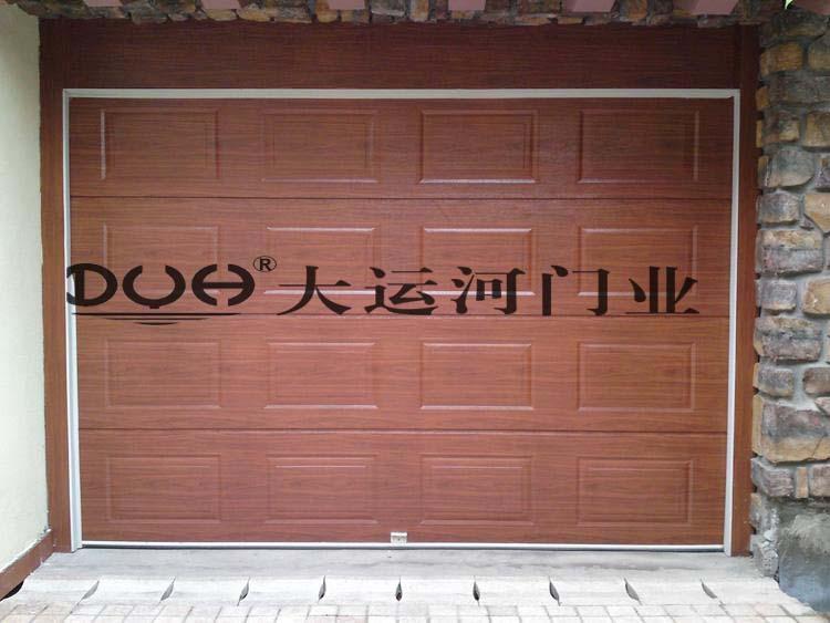 木纹单车库门