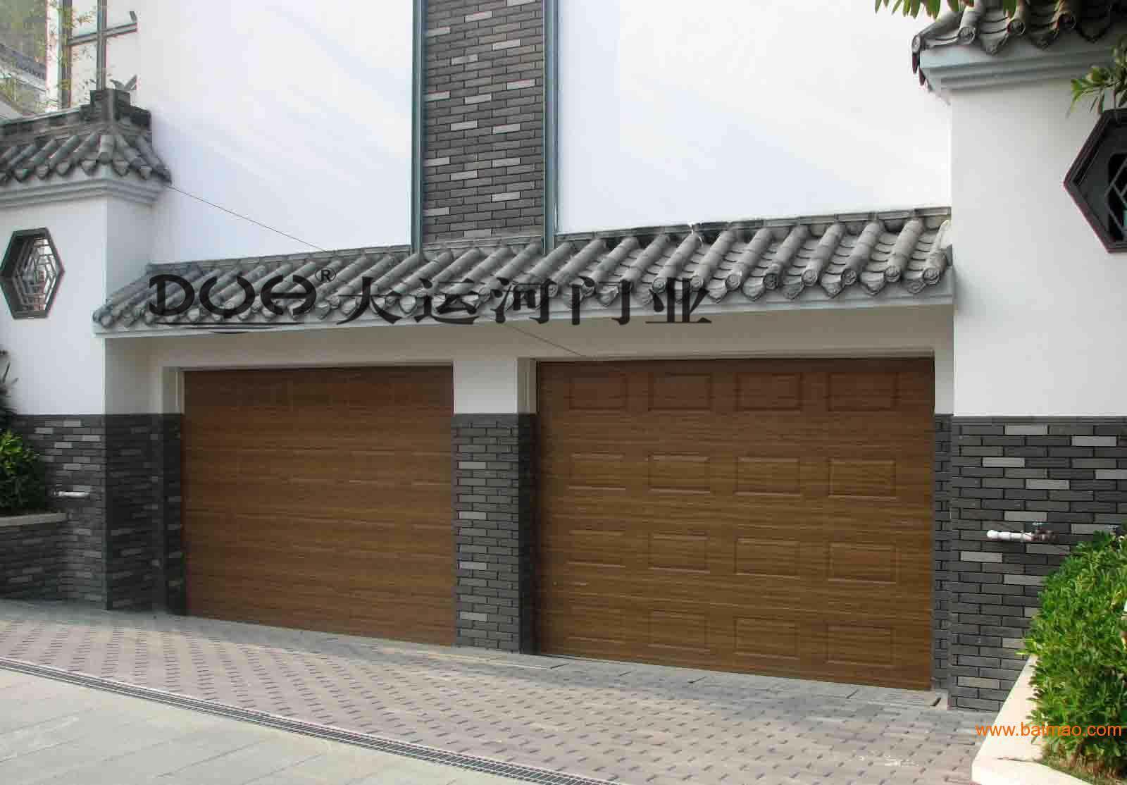 木纹车库门