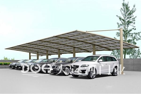 高档铝合金车棚