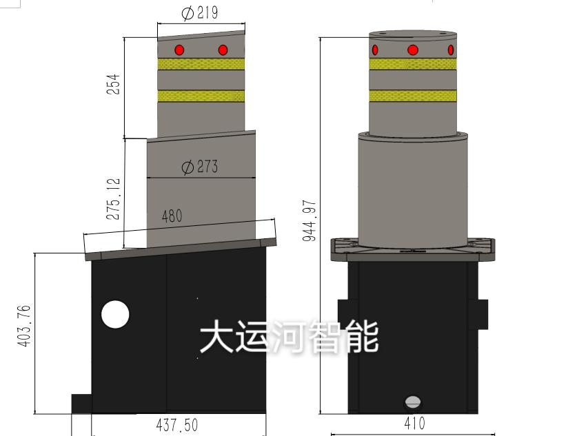 DYH-斜面双节气压示意图
