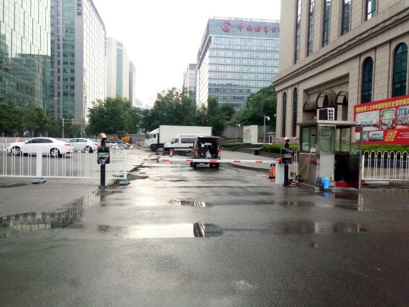 中国文史馆(车牌识别系统)